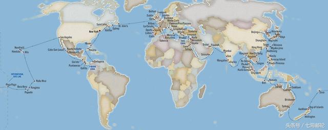 邮轮全球旅游得多少钱?